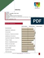 informe evaluación analista
