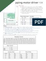 Tb6560 stepping motor driver ...pdf