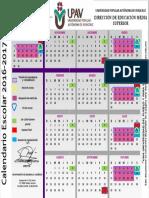 Calendario Upav 2016-2017