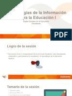 Tecnologías de La Información Para La Educación I
