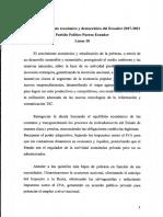 Plan de Trabajo Fuerza Ecuador Lista 10