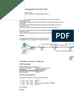 Escenario Integrador de VLANs e IPv6