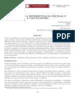 FRAÇÕES Representação Decimal e Calculadora Sbm Pmo v001 n001 Kindel e Favoretto