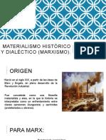 Materialismo Histórico y Dialéctico (Marxismo)