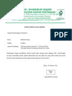 Surat Pernyataan Merek Rev