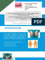 Artritis Reumatoide y Embarazo
