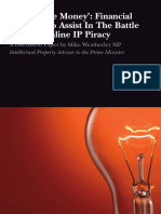 Follow the Money Financial Options to Assist in the Battle Against Online Ip Piracy