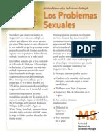 Brochure Sobre Los Problemas Sexuales