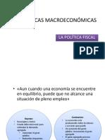 2 Las Políticas Macroeconómicas (1)