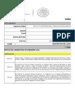 Catalogo de Conceptos Tec de Zacatepec Compranet