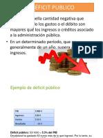 3deficit Publico
