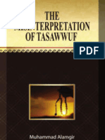 Misinterpretation of Tasawwuf
