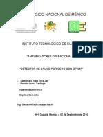 Detector de Cruce Por Cero