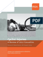 Review of Cyclist Injuries 2012 (Ireland)