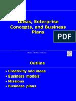 8. Plans, Ideas, Models