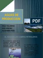 Aguas de Produccion