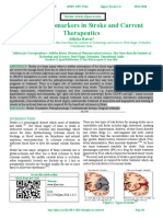 Potential Biomarkers in Stroke and Current                 Therapeutics