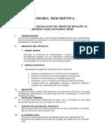 97419111 Memoria Descriptiva Alcantarillado Pencapampa
