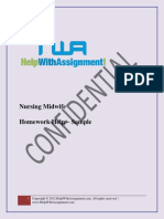 Nursing Assignment Sample Solution