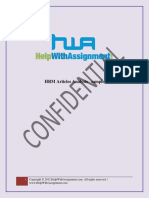 HRM Articles Analysis Sample Solution