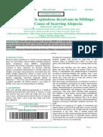 Keratosis pilaris spinulosa decalvans in Siblings