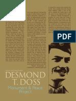 Desmond T. Doss Monument Project (ACM)