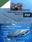 Donsol Presentation