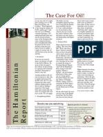 The Hamiltonian Report May 2010-Kush Jenkins, MBA