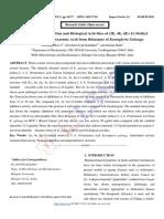 Isolation, Characterization and Biological Activities of (2E, 4E, 6E)-11-Methyl Dodeca-2, 4, 6, 10-Tetraenoic Acid from Rhizomes of Kaempferia Galanga