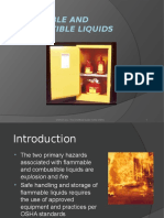 Flammables And Combustible Liquids