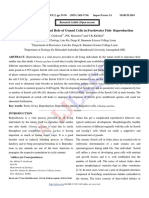 Morphological Study and Role of Gonad Cells in Freshwater Fish- Reproduction