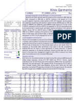 Kitex Garments Motilal Oswal 060415