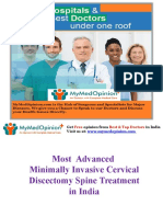 Cervical Discectomy Surgery in India