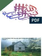 Salam & Parallel Salam Transactions-CH.7