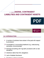 Chapter 14 - Provisions, Contingent Liabilities and Contingent Assets