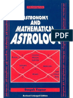 Astronomy+And+Mathematical+Astrology