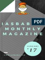 IASbabas Monthly Current Affairs Magazine 2017