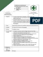 SOP Koordinasi Dan Komunikasi Antara Pendaftaran Dengan Unit-unit Penunjang Terkait