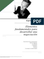 Lectura 1 - Fundamentos de La Negociacion