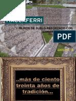 Sistema de Suelo Reforzado Terramesh System_Carreteras