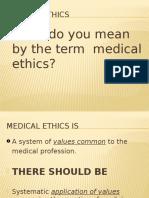 18b - Medical Ethics & Medical Negligence