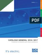 201601 Bachmann Catálogo General 2016-2017