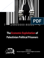 Economic Exploitation of Palestinian Prisoners - Addameer
