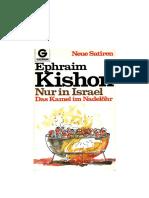 Kishon_Ephraim - Das Kamel Im Nadelöhr - Nur in Israel