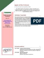 Curriculum de Carlos Corredor (1)