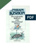 Kishon_Ephraim - Der Seekranke Walfisch Oder Ein Israeli Auf Reisen