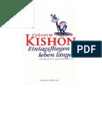 Kishon_Ephraim - Eintagsfliegen Leben Länger