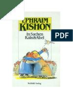 Kishon_Ephraim - In Sachen Kain Und Abel