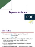 Dysmenorrhoea 2