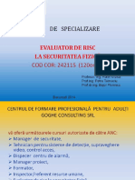EvaluareRisc P1 1 Prezentare